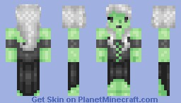 Grizzelda the Witch Minecraft Skin