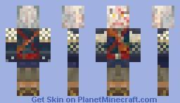 The Witcher : Geralt of Rivia Minecraft Skin