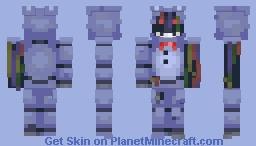 Withered Bonnie - FNaF 2 Minecraft Skin