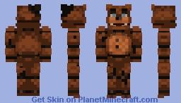 Withered Freddy - FNaF 2 Minecraft Skin