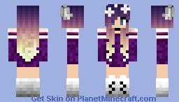 wolf girl Minecraft Skin
