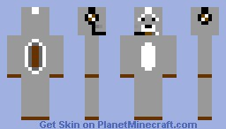 Wolf with headphones V.2 Minecraft Skin