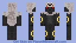 Umbreon: Wolf Minecraft Skin