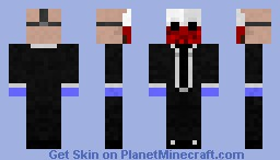 PayDay: The Heist (Wolf) Minecraft Skin