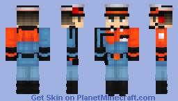Wolfenstein: The New Order | (Air Force) Commander Minecraft Skin