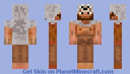 wolf shaman Minecraft Skin