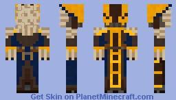 spiral knights-Wolver V1.5 Minecraft Skin