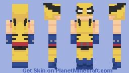 Wolverine | Hulk vs Wolverine Minecraft Skin