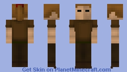 Woman (Brown Clothes) | OSRS Minecraft Skin