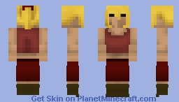 Woman (Sangria Clothes) | OSRS Minecraft Skin