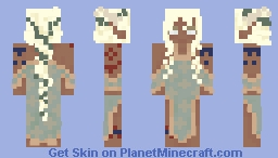 Wood Elf Woman- Spellbound Garden Competition Minecraft Skin