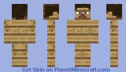 wood steve ! Minecraft Skin