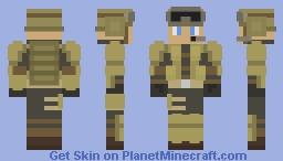 Blitz Skin (R6) Minecraft Skin
