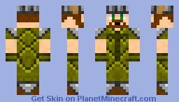 Armored Farmer Minecraft Skin