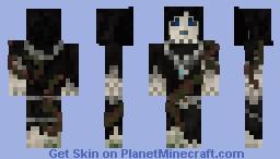 Overgrown Wraith Minecraft Skin