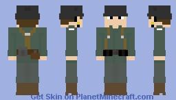 WW1/WWI German soldier Minecraft Skin