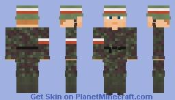 WW2 Armia Krajowa Kedwy Minecraft Skin