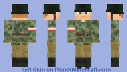 WW2 Armia Krajowa Kedwy (Smock Camoflage) Minecraft Skin