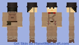 WW2 Imperial Japanese Army Infantry (Battle of Shanghai, 1937) Minecraft Skin