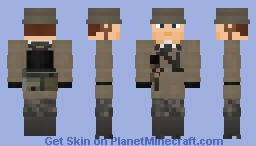WW2 Luftwaffe Fallschirmjäger (Battle of Crete) Minecraft Skin