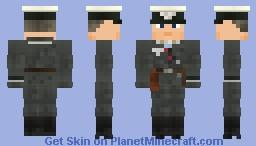 WW2 Luftwaffe Fighter Pilot Minecraft Skin