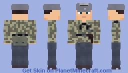 """WW2 Luftwaffe Panzer Commander(1st Fallschirm-Panzer Division """"Hermann Göring"""") Minecraft Skin"""