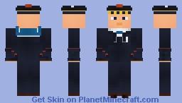 WW2 Marine Nationale Salior Minecraft Skin
