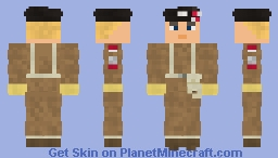 WW2 Polish Infantry Lieutenant (2nd Polish Corps Anders's Army, 2nd Warsaw Armoured Brigade, 4th 'Scorpion' Armoured Regiment Italy 1945) Minecraft Skin