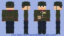WW2 Soviet Infantry (Moscow Victory Parade 1945) Minecraft Skin