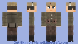 WW2 Soviet Mine Sweeper Engineer Minecraft Skin