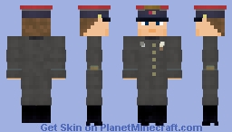 WW2 Soviet VOSO Officer (M43 Uniform) Minecraft Skin