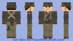 WW2 U.S Canadian 1st Special Service Force Infantry Minecraft Skin