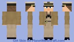 WW2 U.S Navy PT Boat Captain Minecraft Skin