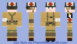 WW2 U.S Para Medic (101st Airborne Division) Minecraft Skin