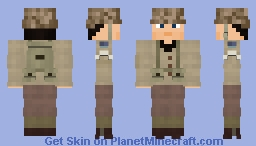 WW2 U.S Ranger (2nd Ranger Battalion, France 1944)(Redo) Minecraft Skin
