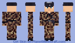 WW2 Waffen SS Panzer Commander (11th Nordland Panzer Division) Minecraft Skin