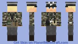 WW2 Waffen SS  Recon Hohenstaufen (Pz.Aufkl.Abt.9, Nijmegen 1944) Minecraft Skin