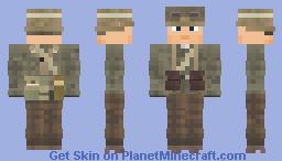 WW2 Wehrmacht Afrika Korps Infanterie Minecraft Skin