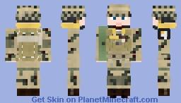 WW2 U.S Airborne Paratrooper Pathfinder (101st Airborne Division) Minecraft Skin