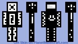 X Minecraft Skin