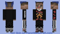 XXXTENTACION (Home Outfit) Minecraft Skin