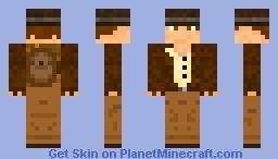 Indiana Jones Official Skin Minecraft Skin