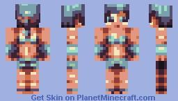 Summer is Gone - [xdinsanity's palette contest] Minecraft Skin