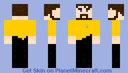 Yellow coat Xephos Minecraft Skin