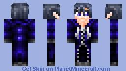 Xion from Kingdom Hearts 358/2 Days Minecraft Skin