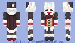 """""""So here's the naughty kid?"""" Mafumafu Minecraft Skin"""