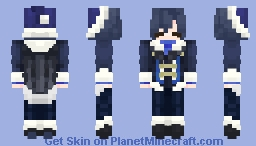 """""""There's no way you can get out of this one."""" Soraru Minecraft Skin"""