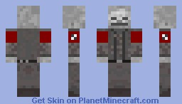 Dead nazi Skeleton (Fixed) Minecraft Skin