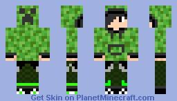 cadu boy creeper Minecraft Skin