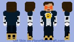 Nora West-Allen   XS (Negative Speedforce) - CW Minecraft Skin